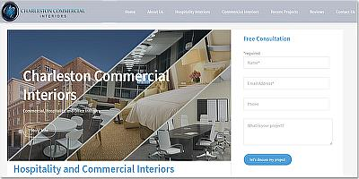 Charleston Commercial Interiors Website