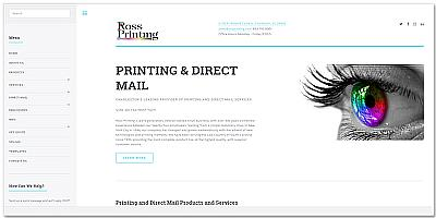 Ross Printing Website